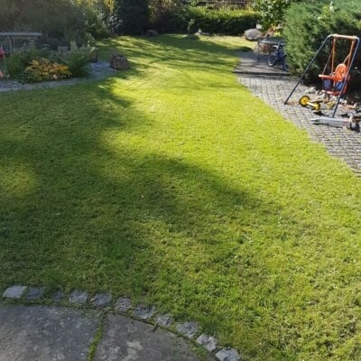 Garden maintenance after
