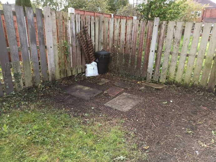 after weeding edging liverpool