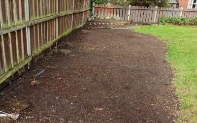 Weeding and edging in Liverpool