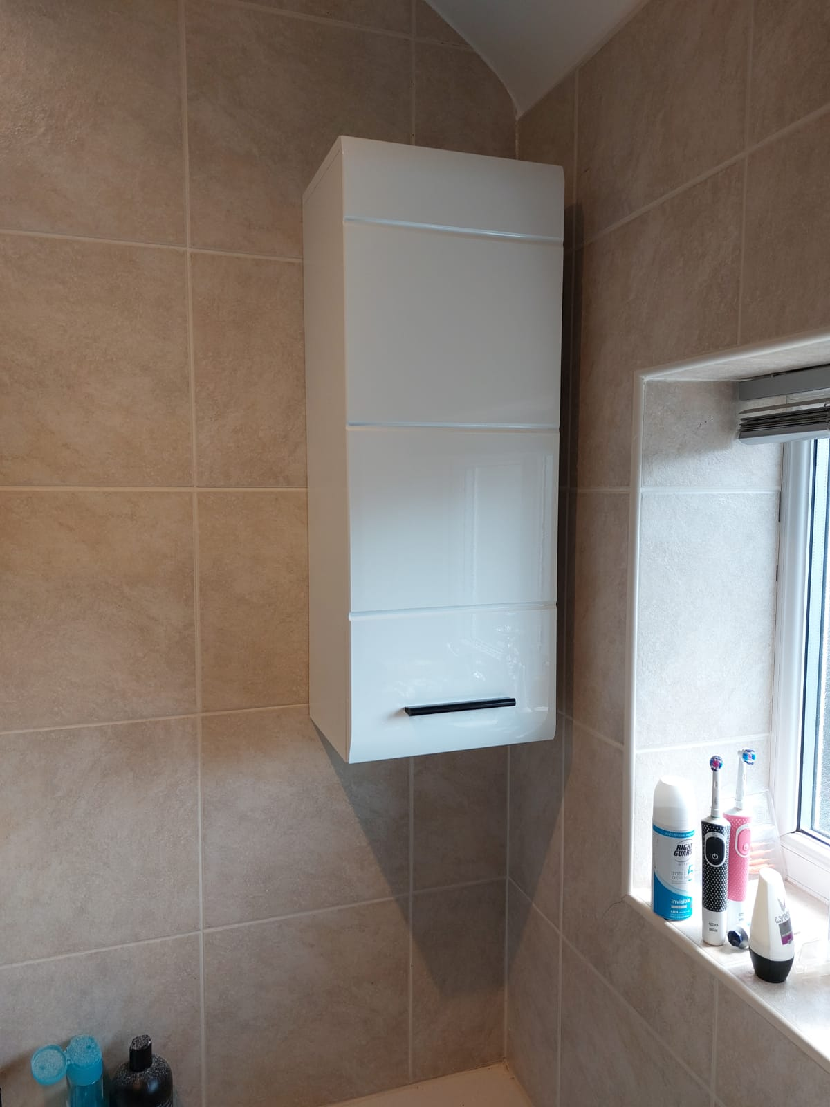 bathroom cabinet fitting in warrington