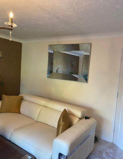 mirror hanging job